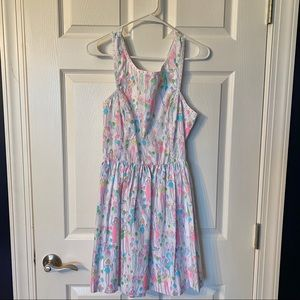 Lilly Pulitzer Sandrine POP Dress Size 4 EUC 🥳🎈